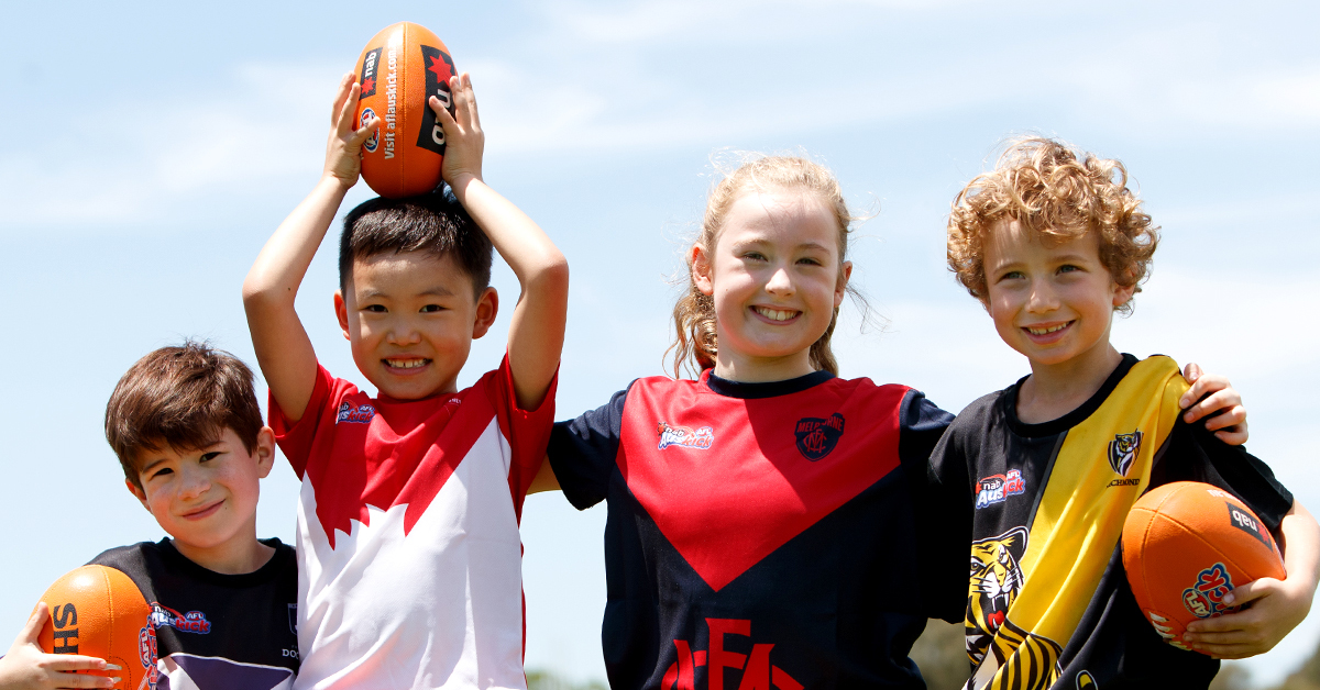 Auskick at Northcote