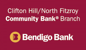 Bendigo Bank Clifton Hill Logo